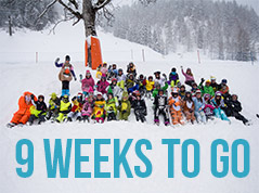 9 Weeks to go