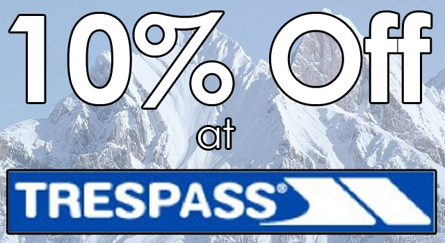 10% discount at Trespass at Freeport